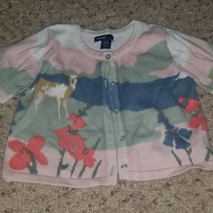Baby GAP cardigan button up sweater 18-24 month